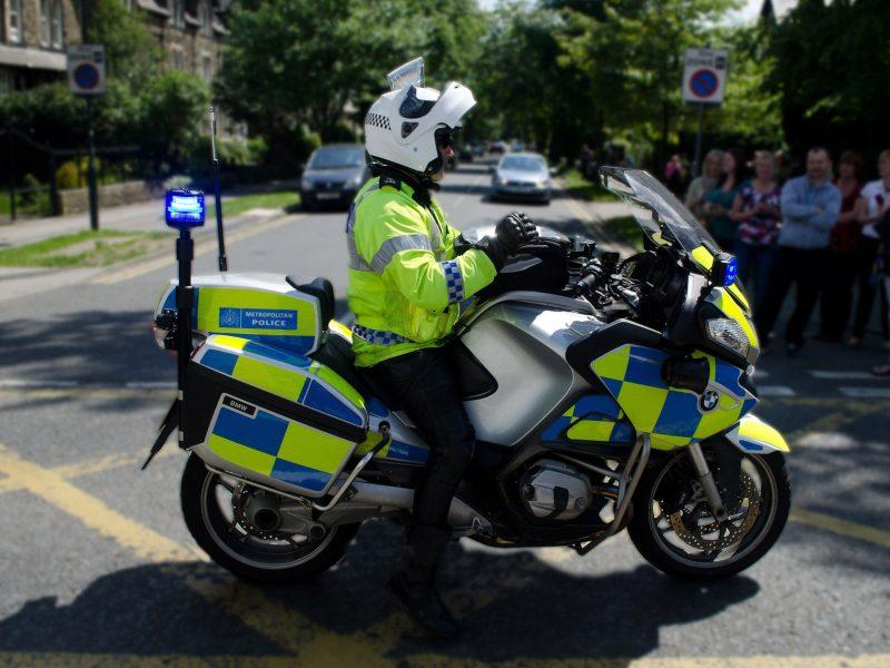 Police rider